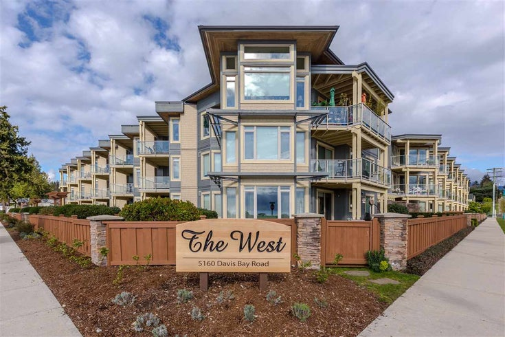 222 5160 DAVIS BAY ROAD - Sechelt District Apartment/Condo for sale, 3 Bedrooms (R2541501)