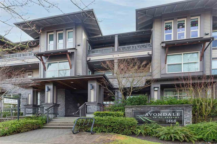 304 1468 ST. ANDREWS AVENUE - Central Lonsdale Apartment/Condo for sale, 2 Bedrooms (R2541529)