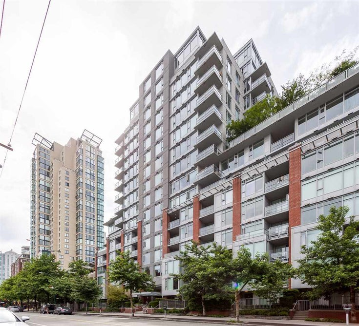 1202 1133 HOMER STREET - Yaletown Apartment/Condo for sale, 1 Bedroom (R2541783)