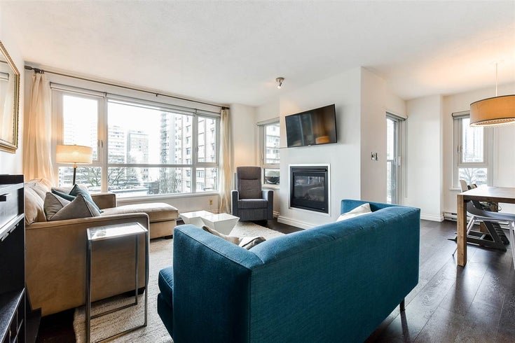 503 1838 NELSON STREET - West End VW Apartment/Condo for sale, 2 Bedrooms (R2541789)