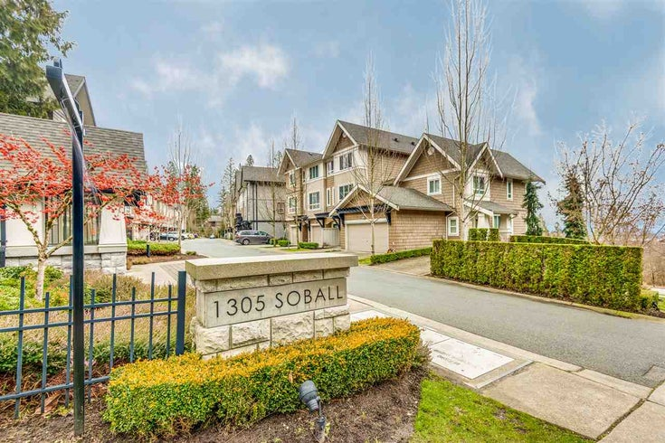 18 1305 SOBALL STREET - Burke Mountain Townhouse for sale, 3 Bedrooms (R2541800)