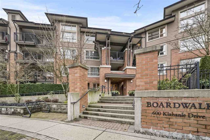 304 600 KLAHANIE DRIVE - Port Moody Centre Apartment/Condo for sale, 3 Bedrooms (R2541835)