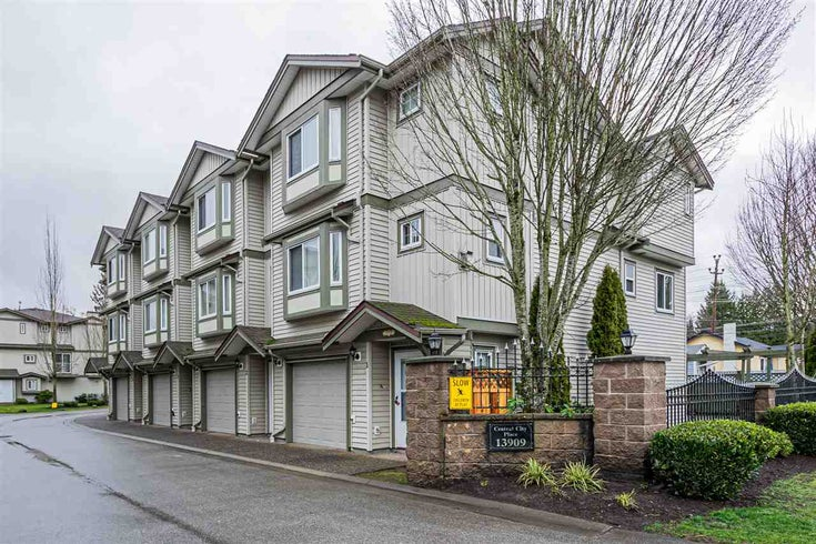 32 13909 102 AVENUE - Whalley Townhouse for sale, 3 Bedrooms (R2541853)
