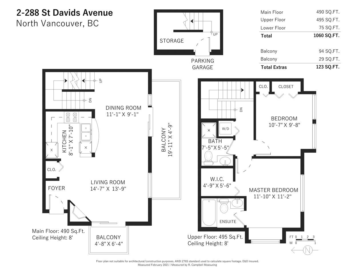2 288 ST. DAVIDS AVENUE - Lower Lonsdale Townhouse for sale, 2 Bedrooms (R2541915) - #28
