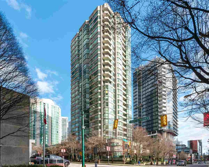 1906 888 HAMILTON STREET - Downtown VW Apartment/Condo for sale, 2 Bedrooms (R2542026)