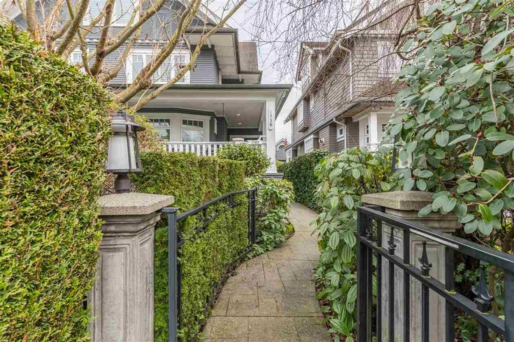 1738 BALACLAVA STREET - Kitsilano Townhouse for sale, 3 Bedrooms (R2542030)
