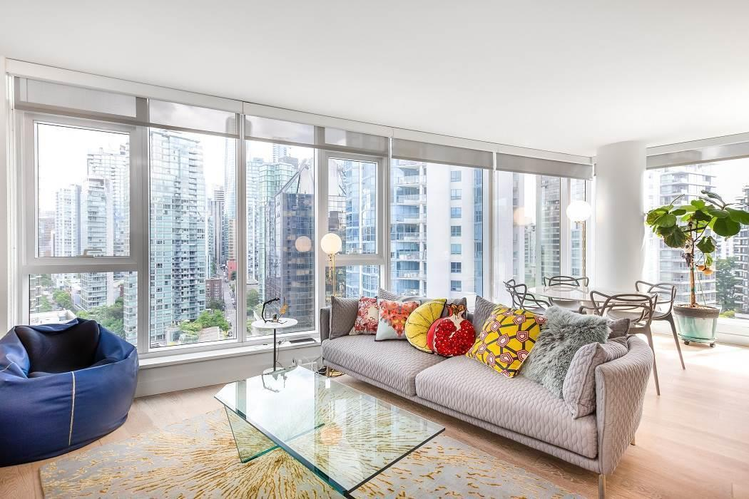 1703 1499 W PENDER STREET - Coal Harbour Apartment/Condo for sale, 2 Bedrooms (R2542074)