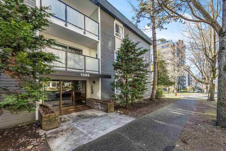 204 1396 BURNABY STREET - West End VW Apartment/Condo for sale, 1 Bedroom (R2542141)