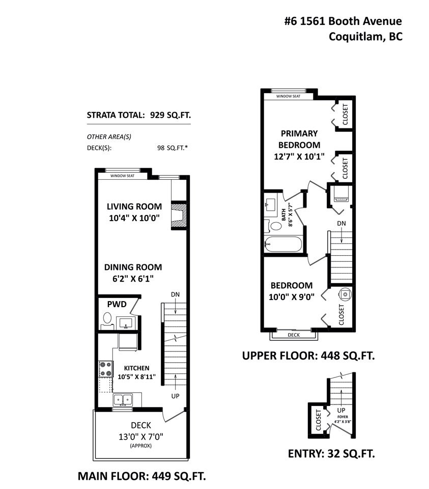 6 1561 BOOTH AVENUE - Maillardville Townhouse for sale, 2 Bedrooms (R2542145) - #21