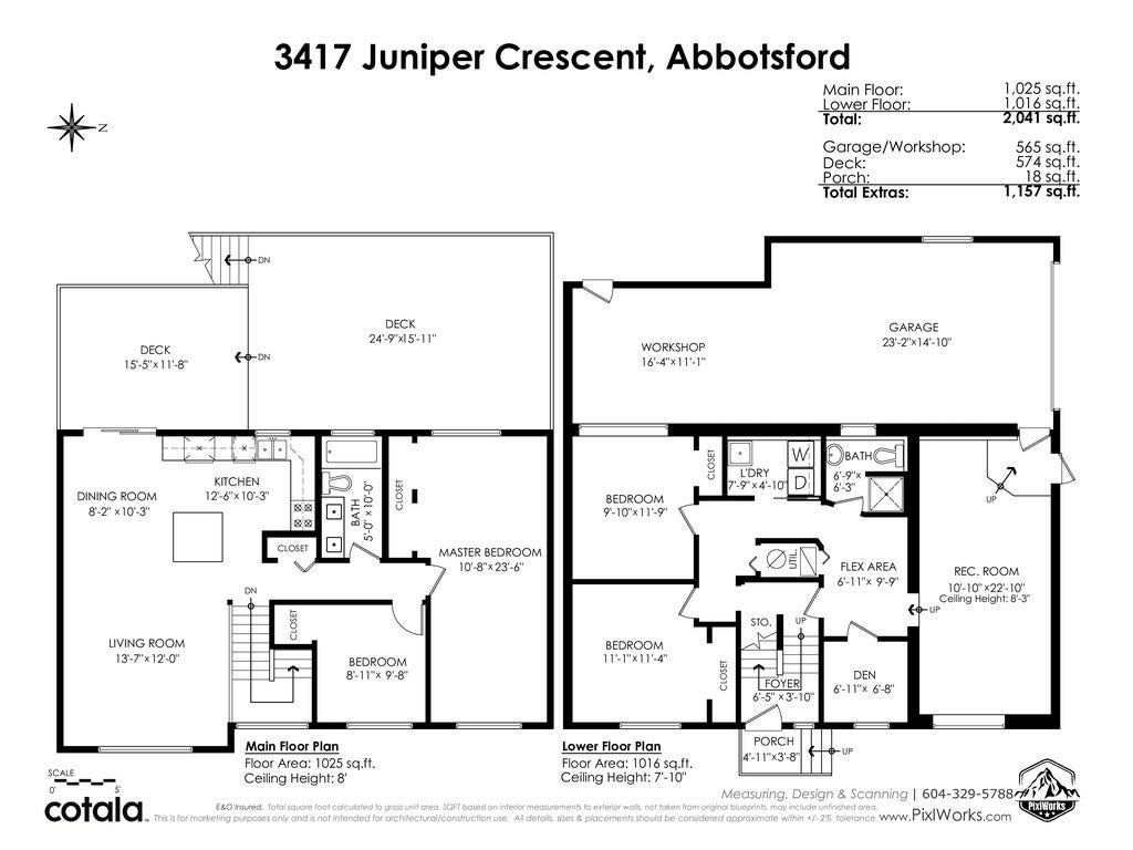 3417 JUNIPER CRESCENT - Abbotsford East House/Single Family for sale, 4 Bedrooms (R2542183) - #37