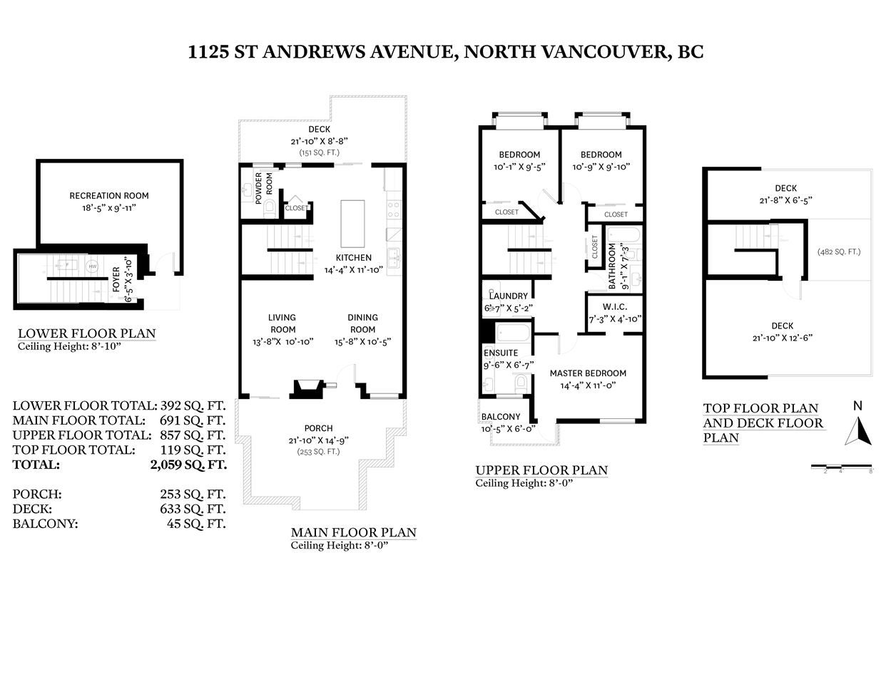 1125 ST. ANDREWS AVENUE - Central Lonsdale Townhouse for sale, 3 Bedrooms (R2542187) - #40