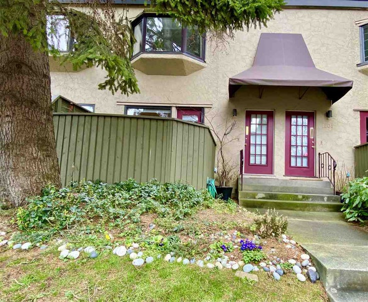 1607 MAPLE STREET - Kitsilano Townhouse for sale, 2 Bedrooms (R2542333)