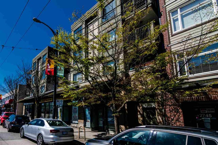 201 2741 E HASTINGS STREET - Hastings Sunrise Apartment/Condo for sale, 1 Bedroom (R2542377)
