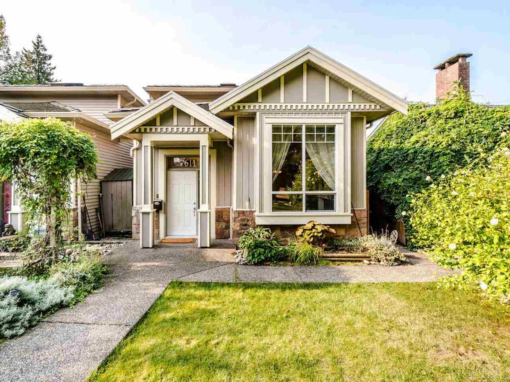 7611 NEWCOMBE STREET - East Burnaby 1/2 Duplex for sale, 3 Bedrooms (R2542388)