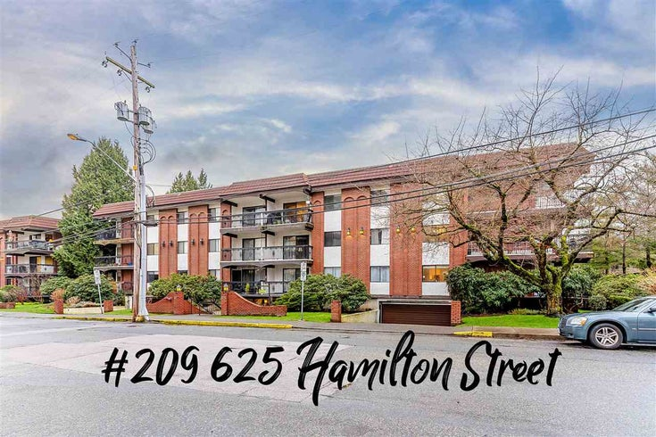 209 625 HAMILTON STREET - Uptown NW Apartment/Condo for sale, 2 Bedrooms (R2542610)