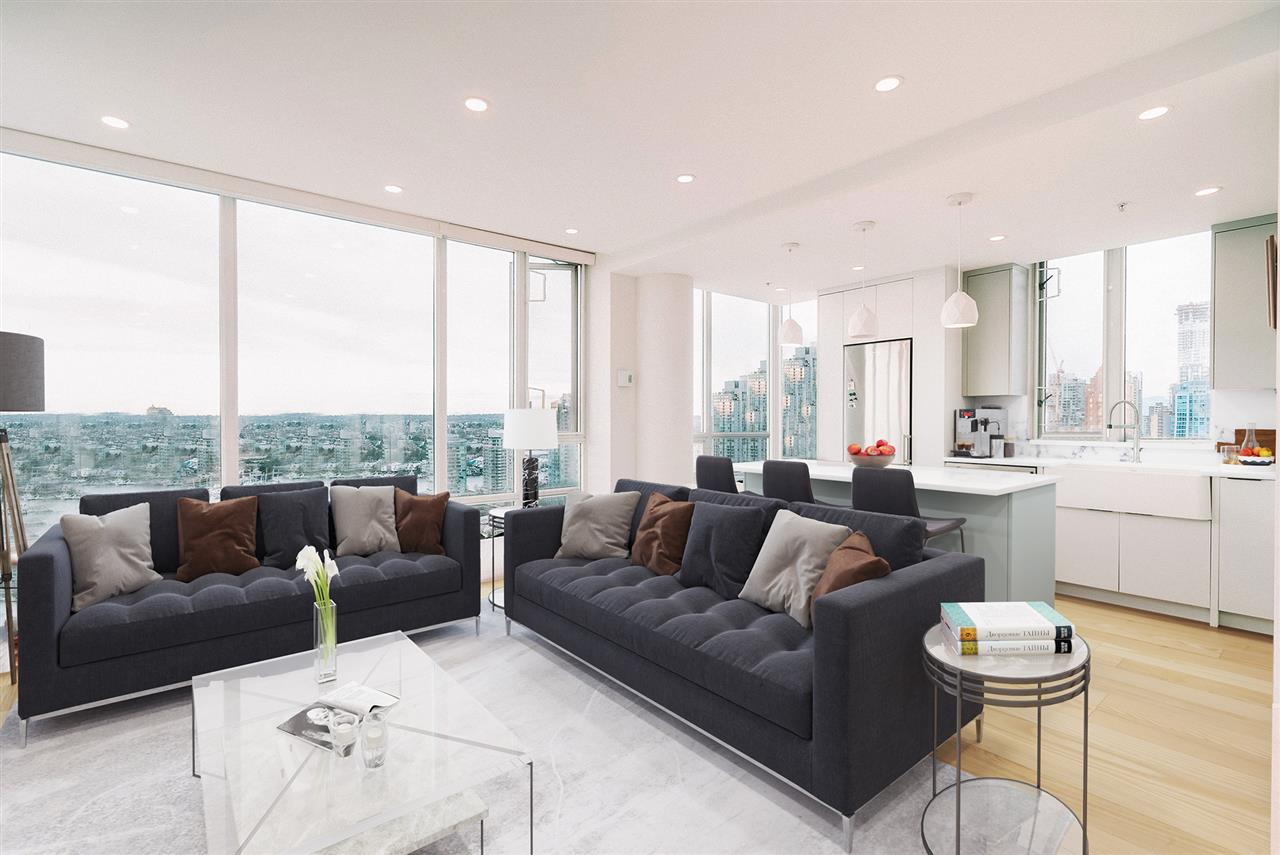 3101 1201 MARINASIDE CRESCENT - Yaletown Apartment/Condo for sale, 2 Bedrooms (R2542686)