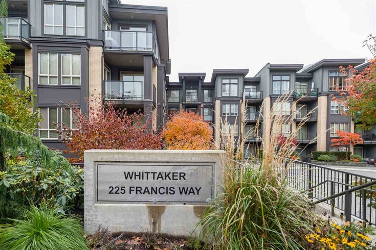 318 225 FRANCIS WAY - Fraserview NW Apartment/Condo for sale, 2 Bedrooms (R2543018)