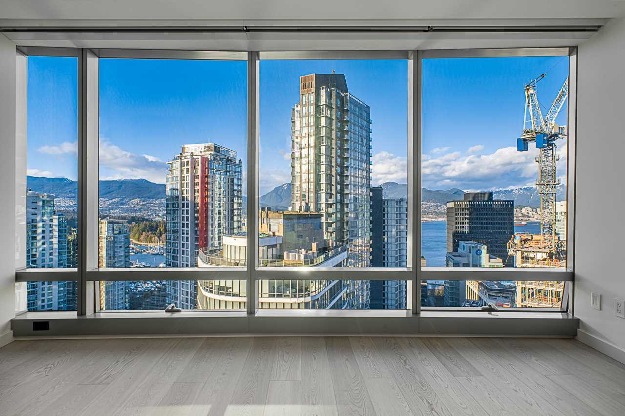 2906 1151 W GEORGIA STREET - Coal Harbour Apartment/Condo for sale, 1 Bedroom (R2543391) - #1