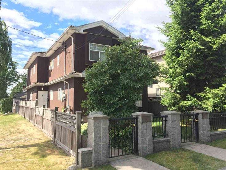 608 W 70TH AVENUE - Marpole 1/2 Duplex for sale, 4 Bedrooms (R2543496)
