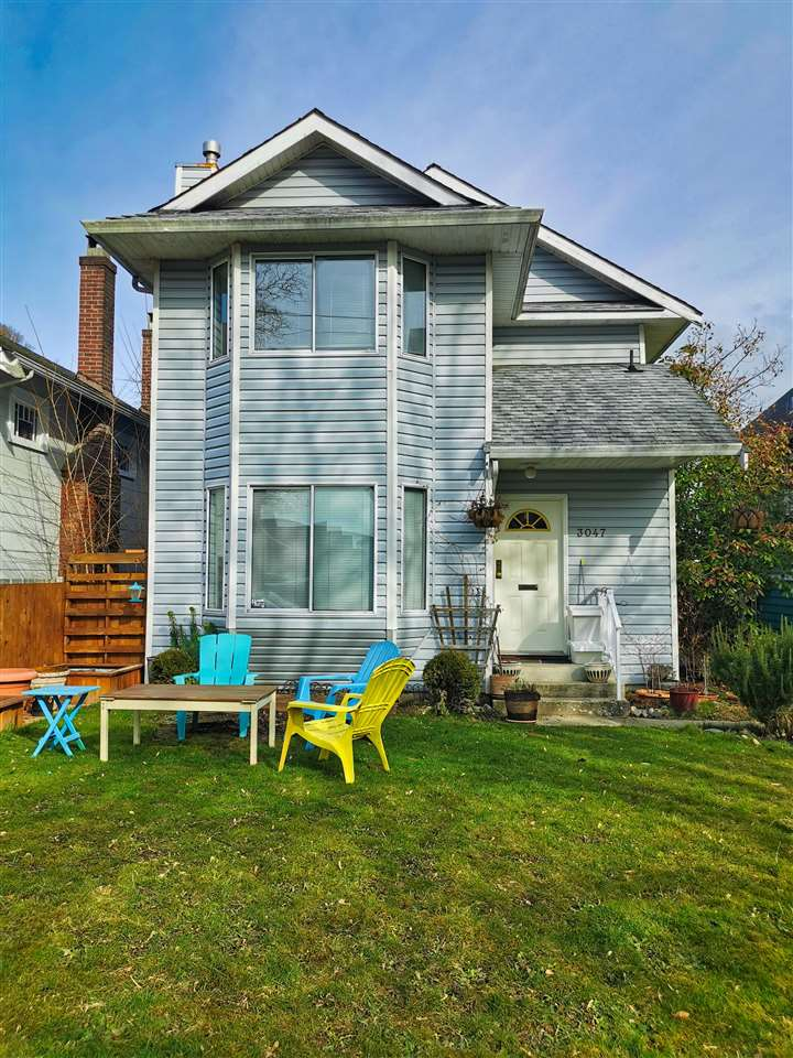 3047 W 6TH AVENUE - Kitsilano 1/2 Duplex for sale, 3 Bedrooms (R2544162)