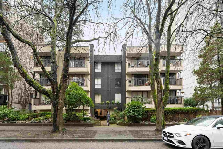 302 1234 PENDRELL STREET - West End VW Apartment/Condo for sale, 1 Bedroom (R2544246)