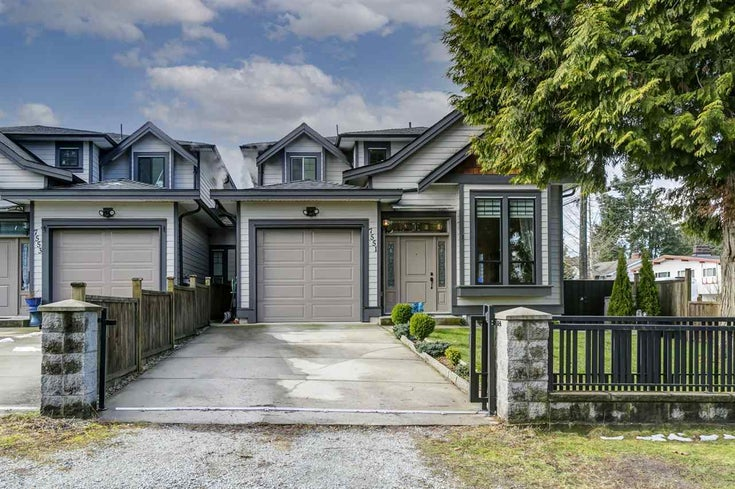 7551 NEWCOMBE STREET - East Burnaby 1/2 Duplex for sale, 4 Bedrooms (R2544332)