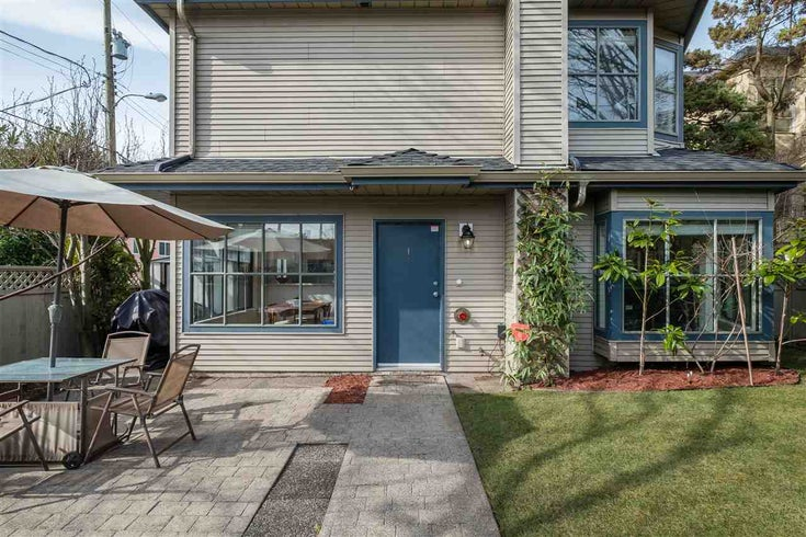 1 8679 CARTIER STREET - Marpole Townhouse for sale, 3 Bedrooms (R2544345)