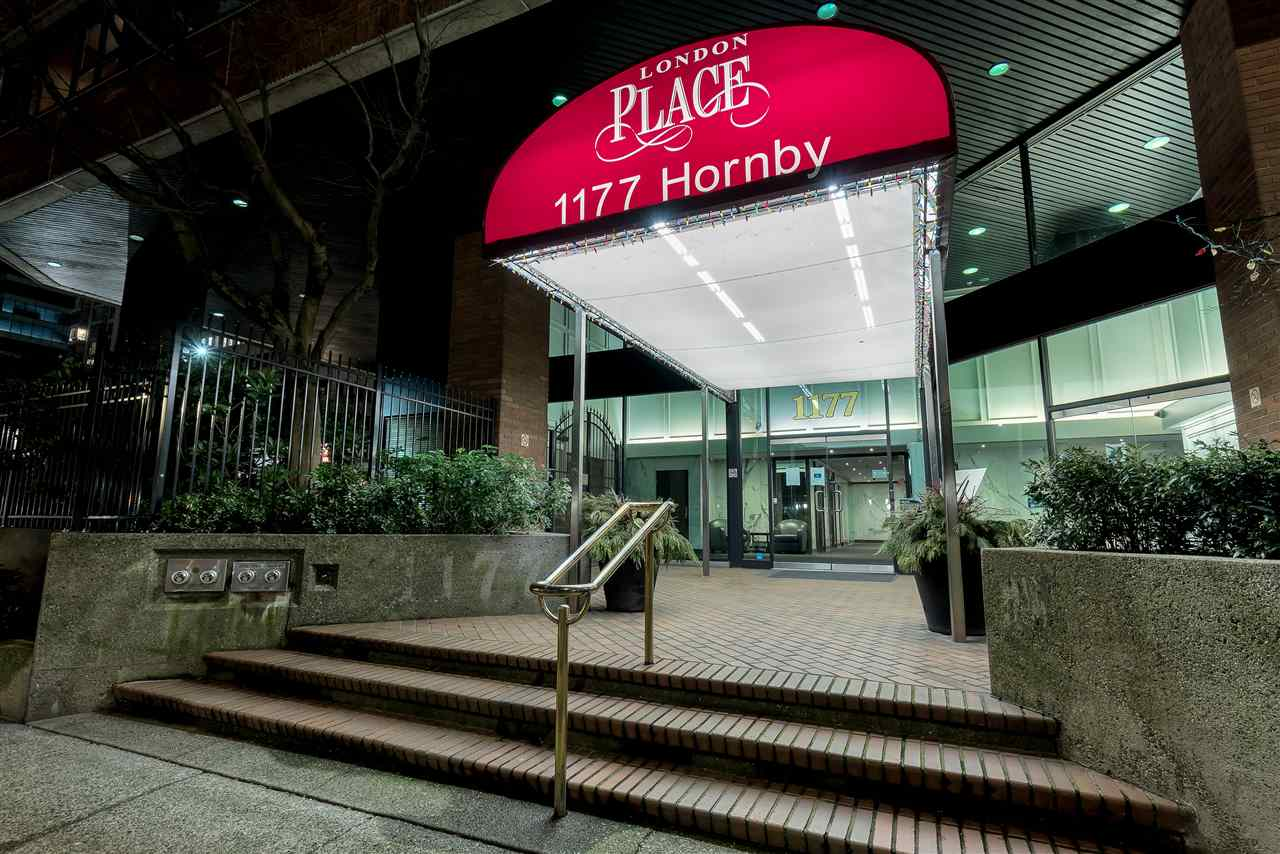 307 1177 HORNBY STREET - Downtown VW Apartment/Condo for sale, 2 Bedrooms (R2544364) - #1