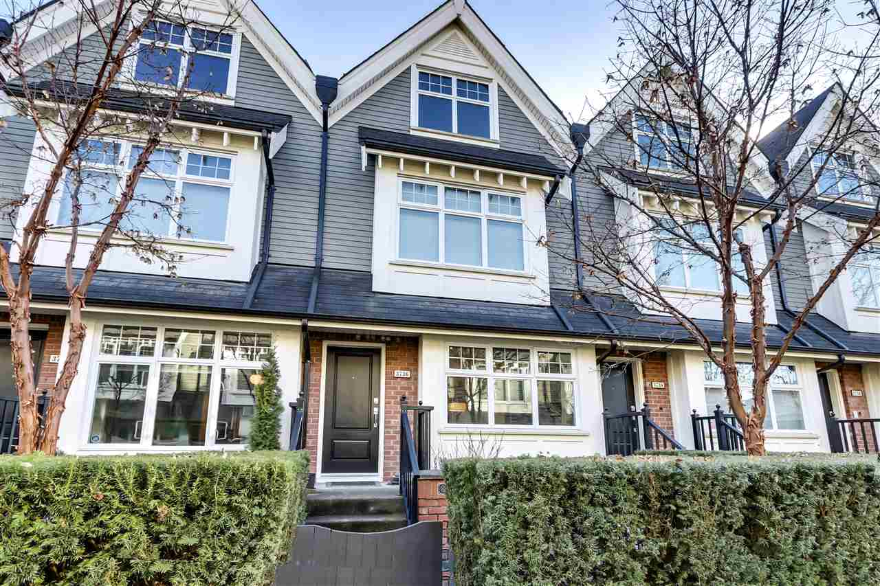 3736 WELWYN STREET - Victoria VE Townhouse for sale, 2 Bedrooms (R2544407) - #1