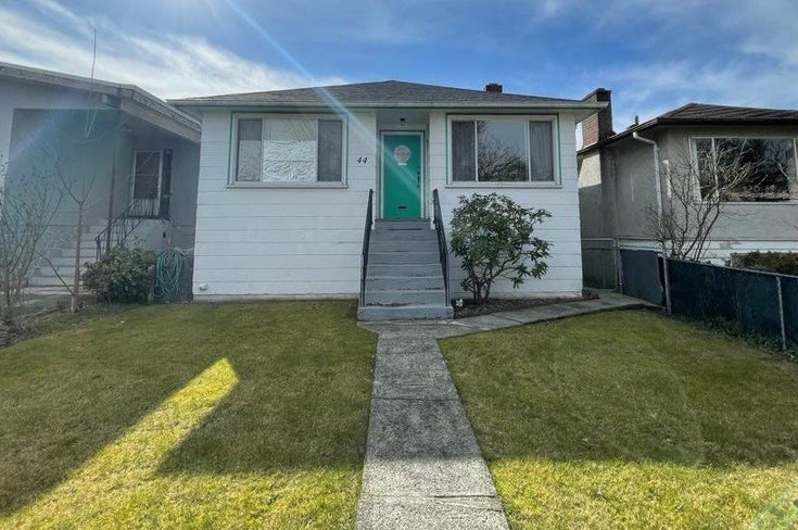 44 E 57TH AVENUE - South Vancouver House/Single Family for sale, 4 Bedrooms (R2544981)