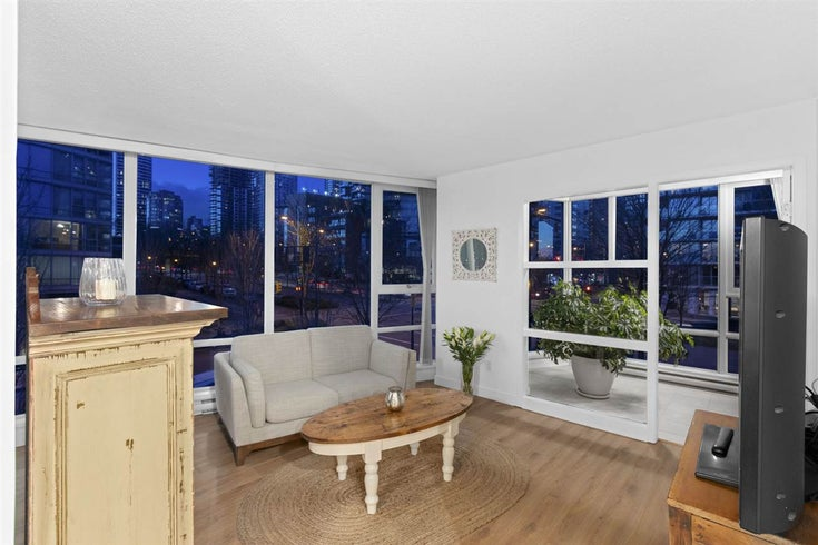 206 1438 RICHARDS STREET - Yaletown Apartment/Condo for sale, 1 Bedroom (R2545394)
