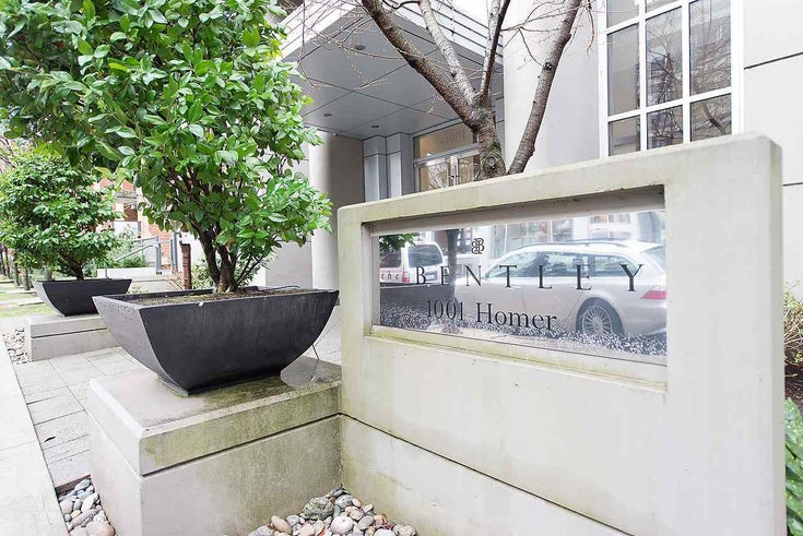 908 1001 HOMER STREET - Yaletown Apartment/Condo for sale, 1 Bedroom (R2545632)