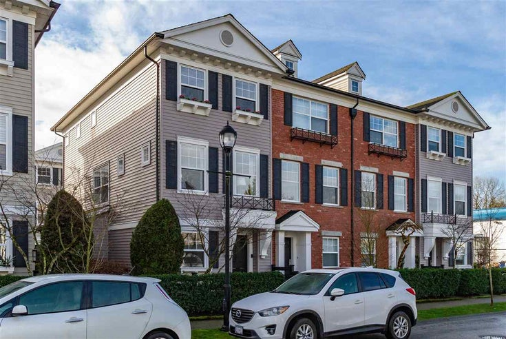59 11067 BARNSTON VIEW ROAD - South Meadows Townhouse for sale, 3 Bedrooms (R2545734)