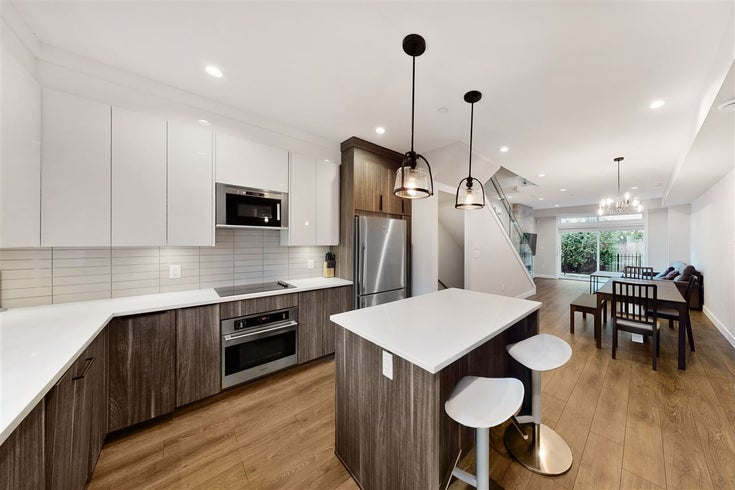 2410 DUNDAS STREET - Hastings Sunrise Townhouse for sale, 3 Bedrooms (R2545751)
