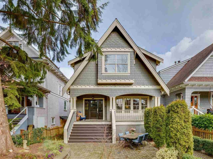 3129 WEST 3RD AVENUE - Kitsilano 1/2 Duplex for sale, 4 Bedrooms (R2546354)