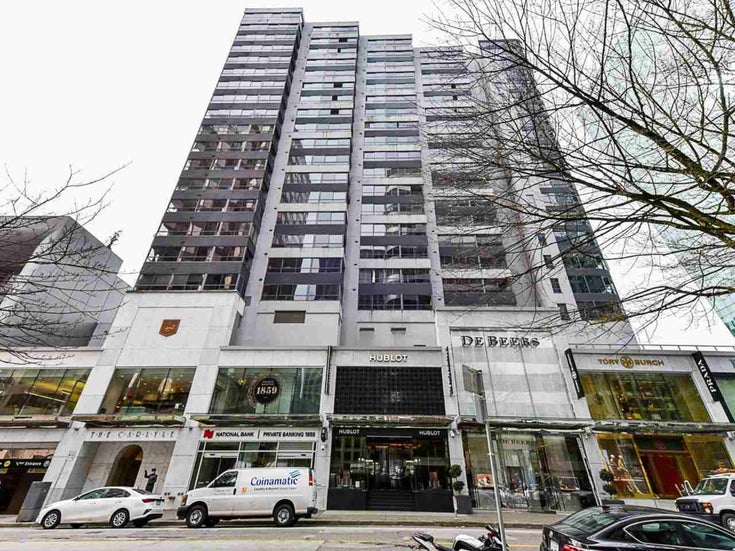807 1060 ALBERNI STREET - West End VW Apartment/Condo for sale(R2546942)