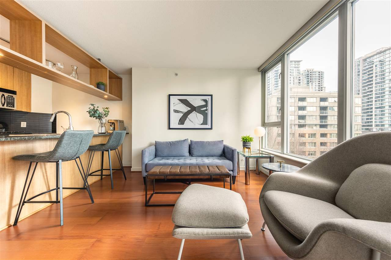 505 1010 RICHARDS STREET - Yaletown Apartment/Condo for sale, 1 Bedroom (R2547043)