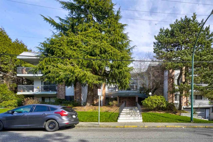 303 1544 FIR STREET - White Rock Apartment/Condo for sale, 1 Bedroom (R2547083)