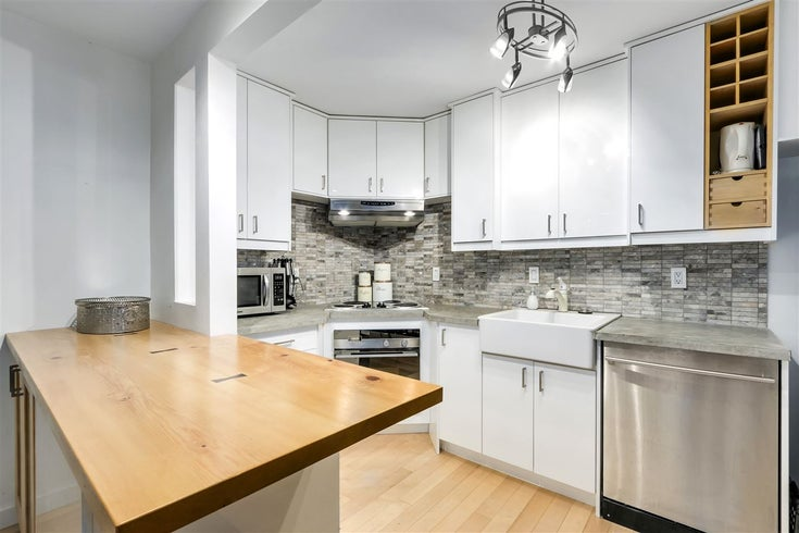 303 1855 NELSON STREET - West End VW Apartment/Condo for sale, 1 Bedroom (R2547285)