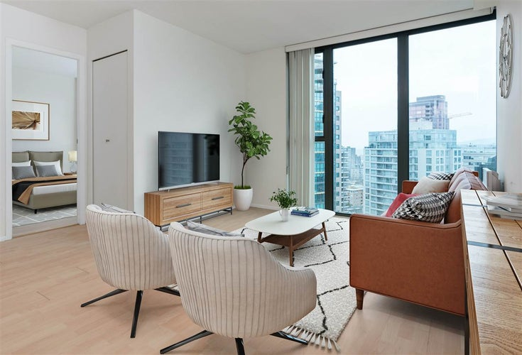 2506 1331 W GEORGIA STREET - Coal Harbour Apartment/Condo for sale, 1 Bedroom (R2547308)
