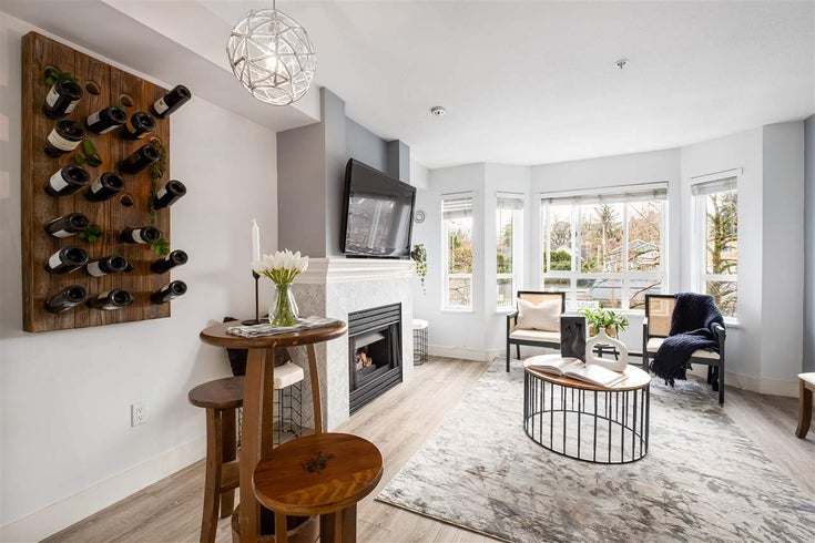 308 2545 W BROADWAY - Kitsilano Townhouse for sale, 2 Bedrooms (R2547471)
