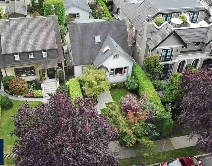 1850 WHYTE AVENUE - Kitsilano House/Single Family for sale, 2 Bedrooms (R2547492)