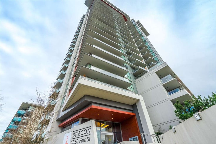 1607 1550 FERN STREET - Lynnmour Apartment/Condo for sale, 2 Bedrooms (R2547567)