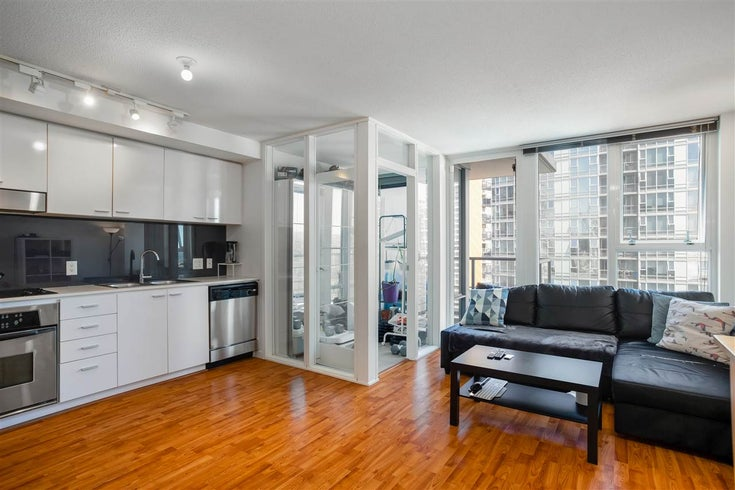 2007 111 W GEORGIA STREET - Downtown VW Apartment/Condo for sale, 1 Bedroom (R2547864)