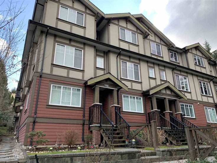 118 3333 DEWDNEY TRUNK ROAD - Port Moody Centre Townhouse for sale, 2 Bedrooms (R2549825)