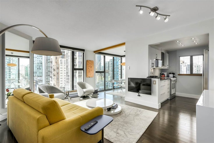 1403 1155 HOMER STREET - Yaletown Apartment/Condo for sale, 1 Bedroom (R2550567)