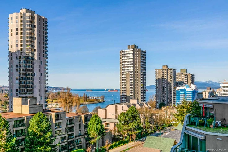 906 1003 PACIFIC STREET - West End VW Apartment/Condo for sale, 1 Bedroom (R2551591)