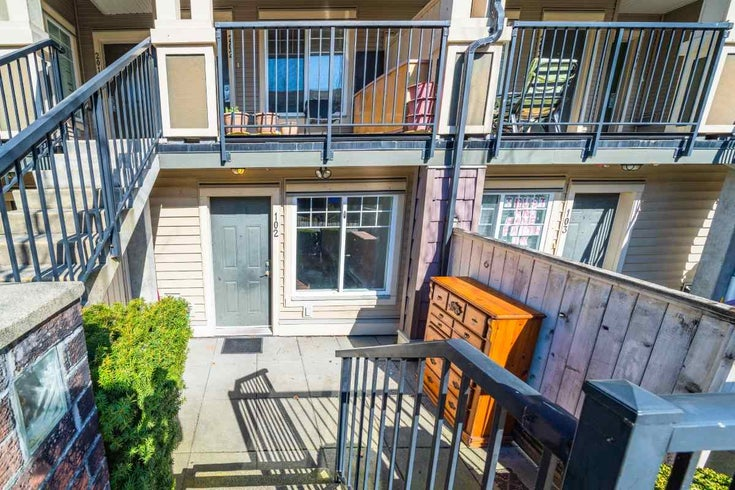 102 13958 108 AVENUE - Whalley Townhouse for sale, 2 Bedrooms (R2552266)
