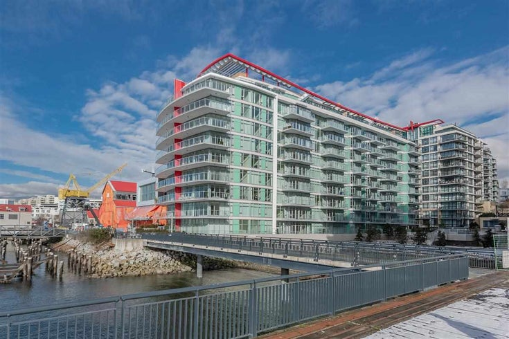 410 175 VICTORY SHIP WAY - Lower Lonsdale Apartment/Condo for sale, 1 Bedroom (R2552269)