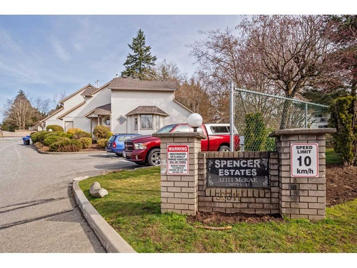4 32311 MCRAE AVENUE - Mission BC Townhouse for sale, 3 Bedrooms (R2552564)